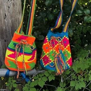 Neon small bags